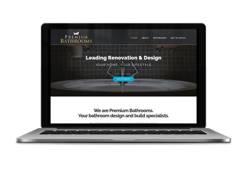 Premium Bathrooms Website